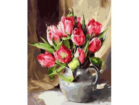 Spring freshness paint by numbers