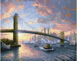 Brooklyn Bridge. New York