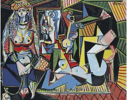 Pablo Picasso. Women of Algeria