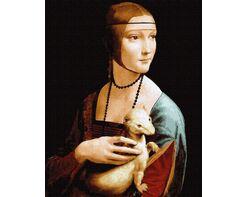 Lady with an Ermine. Leonardo da Vinci