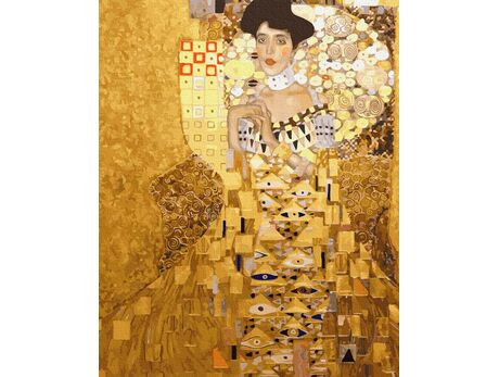 Gustav Klimt. Portrait of Adele Bloch-Bauer I paint by numbers