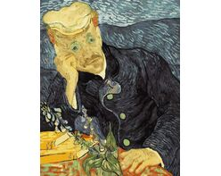 Van Gogh. Portrait of Dr. Gache.
