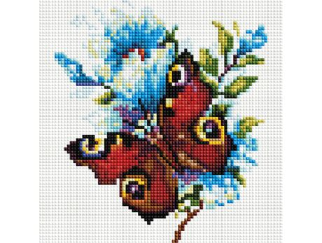 Peacock Butterfly diamond painting