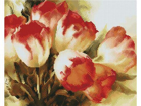 Colorful Tulips diamond painting