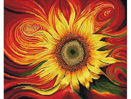 Sunny flower diamond painting
