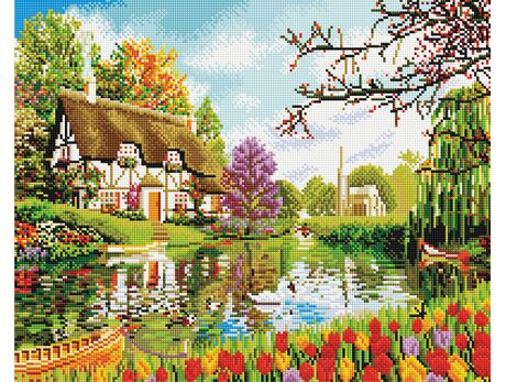 Colorful Country Life diamond painting