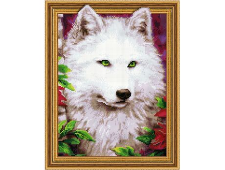 A look of green eyes diamond painting