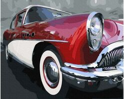 Old school classic car