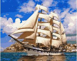 On full sails