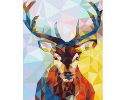 Geometric deer