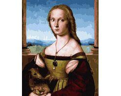 Raphael Santi. Lady with a Unicorn