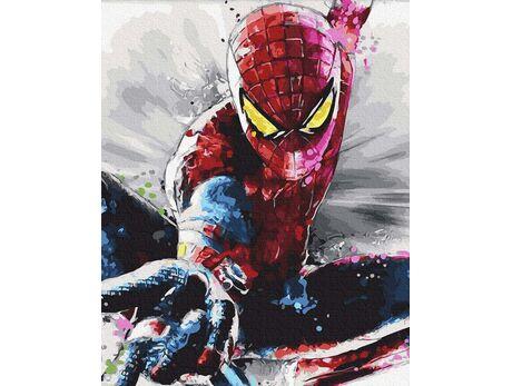 Spiderman - Superhero paint by numbers