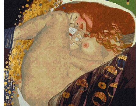 Gustav Klimt. Danae paint by numbers