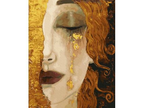 Golden tears paint by numbers