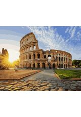Colosseum in the sun