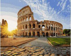 Colosseum in the sun
