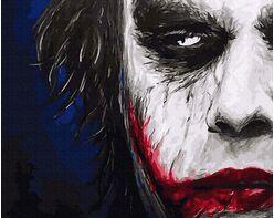 Joker. A sinister smile