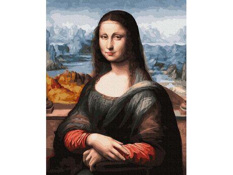 Mona Lisa. Leonardo da Vinci paint by numbers