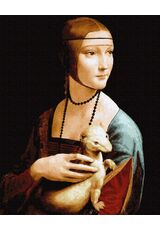 Lady with an Ermine. Leonardo da Vinci