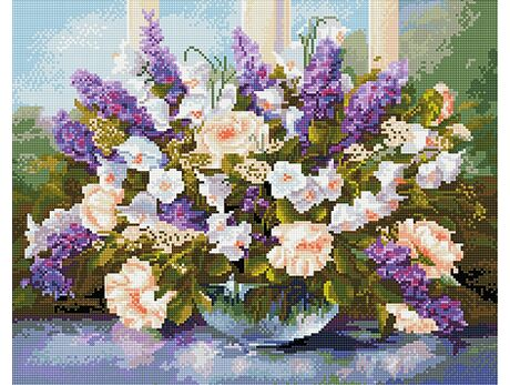 May bouquet diamond painting