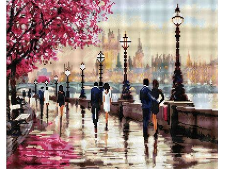 On the Thames diamond painting