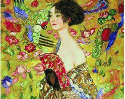 Gustav Klimt. Lady with a Fan