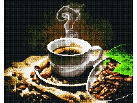 Morning coffee aroma diamond painting
