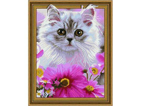 Cute kitten diamond painting
