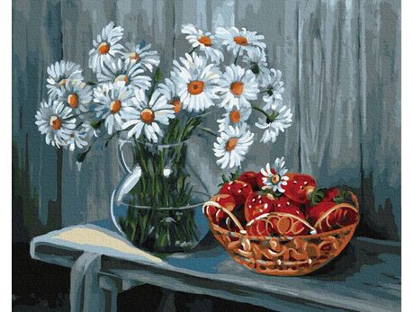 Aroma of summer days paint by numbers