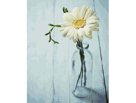 Flower in a jug paint by numbers
