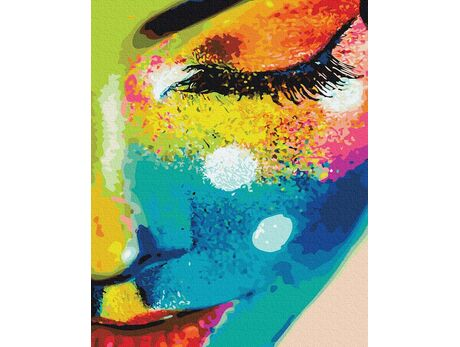 Colorful personality paint by numbers