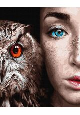 The look of beautiful eyes