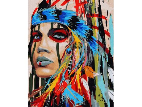 Free in spirit and heart paint by numbers
