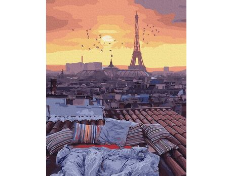 An evening in Paris paint by numbers