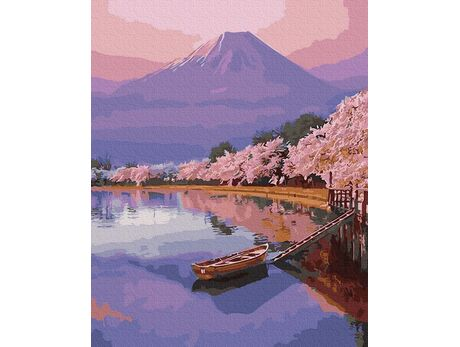 Spring in Japan paint by numbers