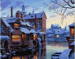 Winter evening in Bruges