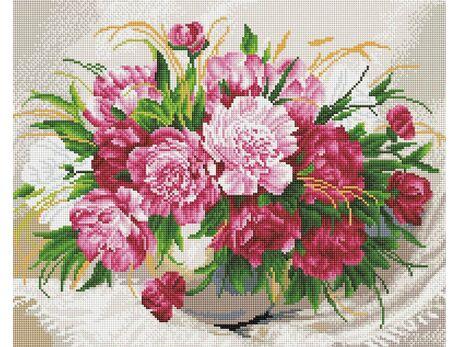 Delicate flowers diamond painting
