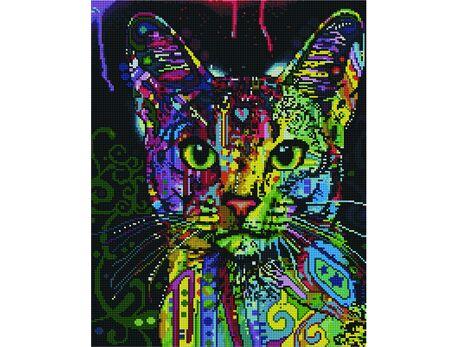 Cat's look diamond painting