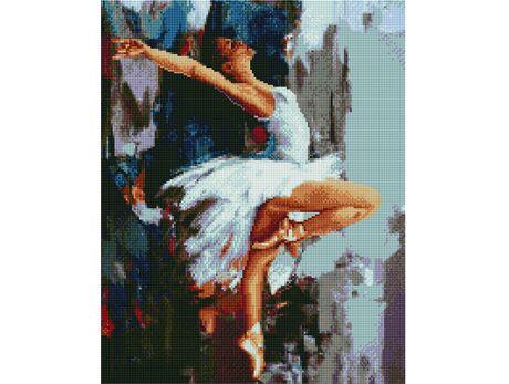 White Swan diamond painting