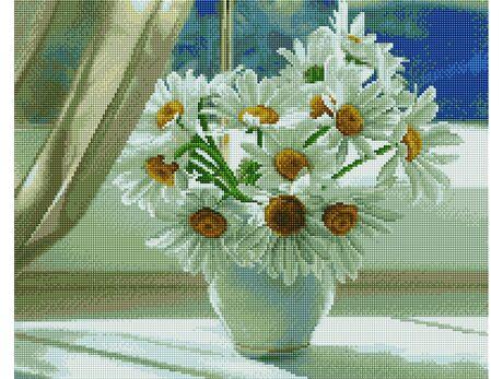 Summer daisies diamond painting