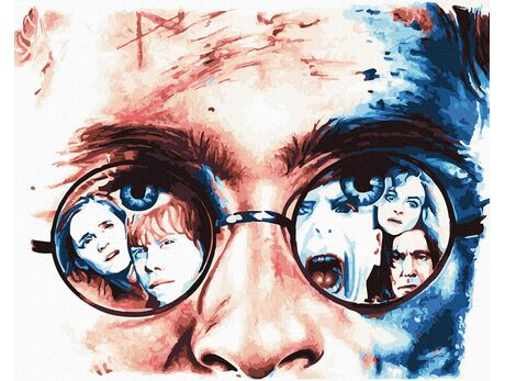 Harry Potter - Living in the Magic paint by numbers