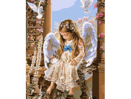 Little Angel paint by numbers