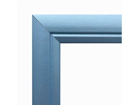 Picture frame (MDF) for 40x50cm canvas, light blue color picture frames