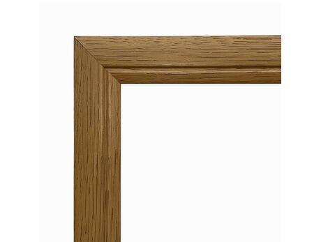 Picture frame (MDF) for 40x50cm canvas, light oak color picture frames