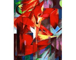 The Foxes (Franz Marc)