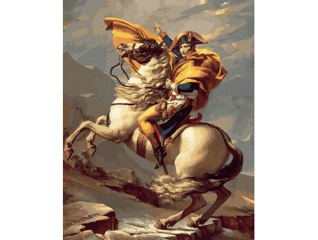 Napoleon - a great leader paint by numbers