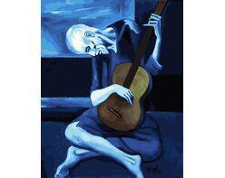 The Old Guitarist (Pablo Picasso)