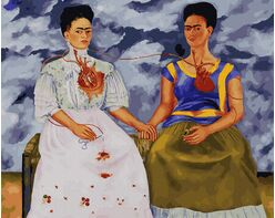 The Two Fridas (Frida Kahlo)