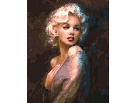 Marilyn Monroe paint by numbers
