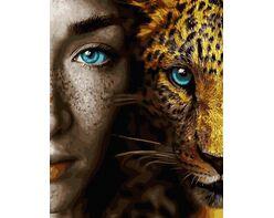 Blue gaze